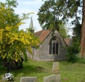 Holy Trinity and St. Andrew's Church, Ashe