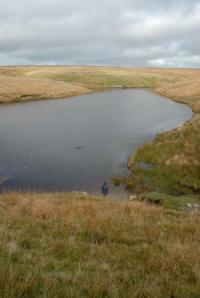 Pinkney Pond, source of the River Barle near Simonsbath