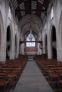 The interior of All Saints Basingstoke