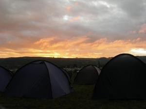 Dawn over Cleve Hill, Greenbelt 27th Aug 2011