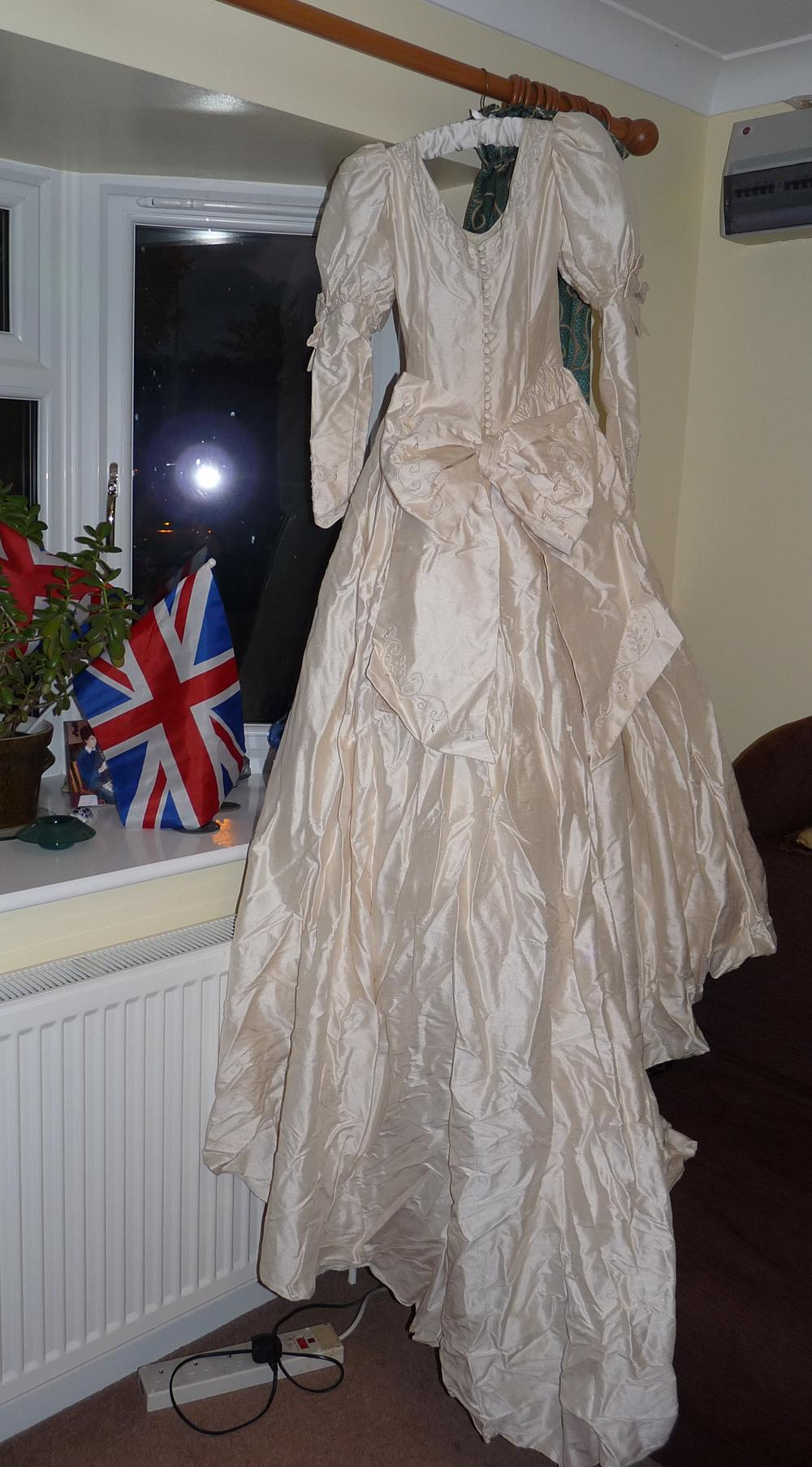 Resurrect and recycle – can a wedding dress be reborn? | Because God ...