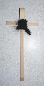 Ash and Palm Cross
