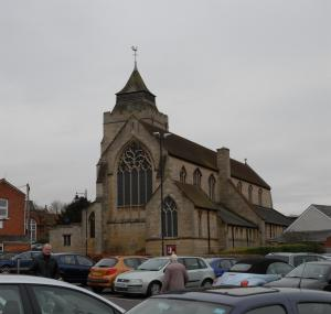 All Saints' Church Basingstoke, photographed in 2009 during my Reader Training Placement