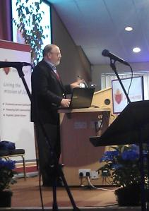 Prof Tom Wright, past Bishop of Durham, speaking at the Diocesan Conference for Diocese of Winchester, 3rd September 2013