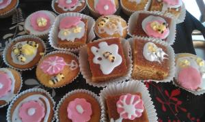 Honey cakes decorated in their activity during my sermon with St. Thomas's West Hyde at Maple Cross School - I got to eat one later!