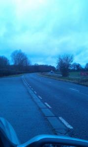 Much time and many miles will soon be spent passing this spot on the A30.