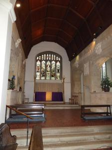 The Chancel, St. Mary's, Old Basing and Lychpit