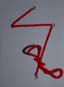 Part of the activity at the last Evening Prayer of Easter School was to tie up some lose ends...