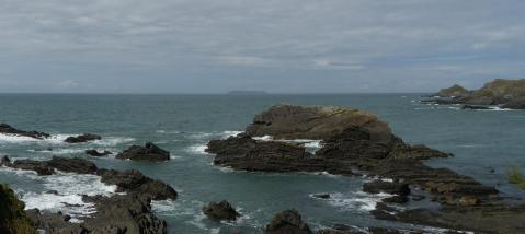 Don't try walking on this water! Looking from Hartland Quay to Lundy Island (a recent holiday snap.)