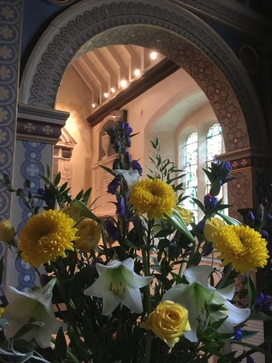 StME Patronal flowers